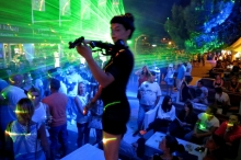 HOUSE OF VIOLINS & LASER SHOW PARTY (Krk Fair, day II)